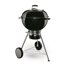 Weber: 57cm MasterTouch With GBS Grate & Tuck Away Lid Black