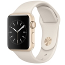 Apple Watch: Sport 38mm [Gold Aluminum Case White Sport Band] - Original