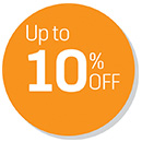 Up to 10% OFF Deals