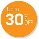 Up to 30% OFF Deals