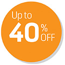 Up to 40% OFF Deals