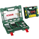 Bosch: 83PC V-Line Set+Free Torch & Wrench