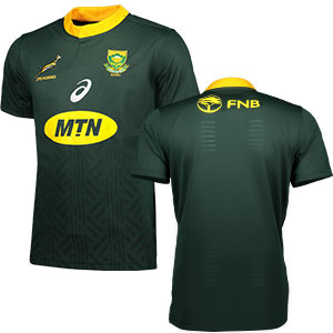 Asics: 2018 Springbok Ladies Home Supporters Jersey - Green