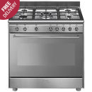 SMEG: Stove 4gas/2solid Plates - SSA92MAX9