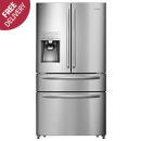 Hisense: Stainless Steel French Door Fridge - H701FS-ID
