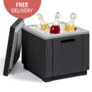 Allibert, by Keter: Ice Cube Drinks Cooler - Graphite