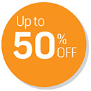 Up to 50% OFF Deals