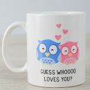 Netflorist: Personalised Guess Whoo Mug