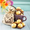 Netflorist: Le Creuset Mug With Coffee & Ferrero Rocher - 1 Mug