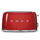 SMEG: 4-Slice Toaster - Red [TSF02RDSA]