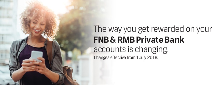 The way you get rewarded on your FNB